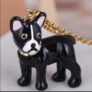 $58 New Kate Spade Ma Cherie Dog Necklace